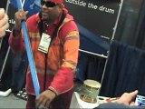 Drummer Sivamani Plays the SLAPEROO - Part 4 - Stick Tricks!