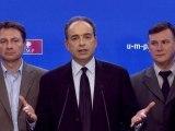 UMP - Réaction de Jean-François Copé à l'intervention de Nicolas Sarkozy