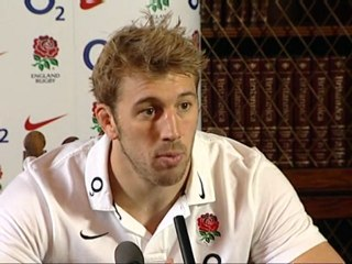 England captain Chris Robshaw proud to take role