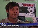 Les jeunes Birmans s'engagent de plus en plus en politique