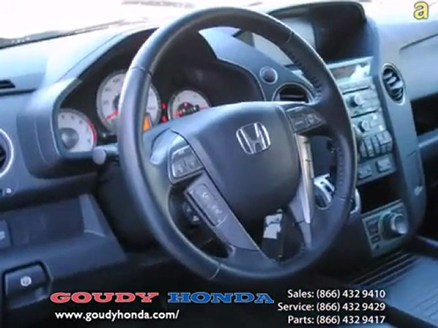 Honda Certified 2009 used Honda Pilot Los Angeles by Goudy Honda