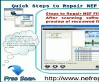 NEF Repair: Quick way to access NEF files