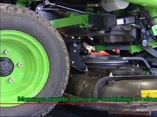 ETESIA Tondeuse Gazon Autoportee Professionnelle Hydro 124 D