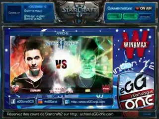 Demi-finale - Stephano vs Adel - match 1 - eOSL Winter'12