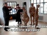 Marmande: concert à la galerie Egregore