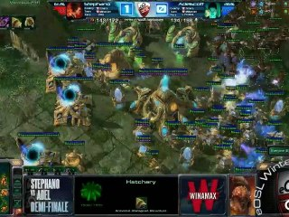 Demi-finale - Stephano vs Adel - match 2 - eOSL Winter'12
