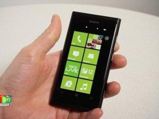 Nokia Lumia 800 - Prise en main
