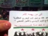 فري برس   إدلب   بنش    مسا ئية بنش ليوم 31 1 2012 جـ2