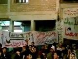 فري برس   إدلب   بنش    مسا ئية بنش ليوم 31 1 2012 جـ1