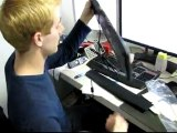 Logitech G110 Gaming Keyboard First Look & Unboxing Linus Tech Tips