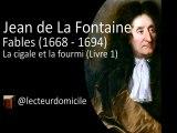Fables de La Fontaine - La cigale et la fourmi