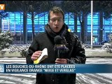 Neige et verglas : les Bouches-du-Rhône en vigilance orange