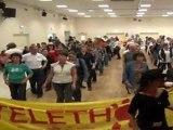 TELETHON 2011 : Tous en Santiags pour une danse Country à Mollay Littry (Calvados-14)