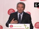 L'appel des 3000 - Intervention de François Bayrou, candidat du Mouvement Démocrate, au 36ème congrès de France Nature Environnement