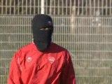Valenciennes : entraînement de foot avec le froid