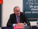 Jacques Cheminade présente à la presse ses 500 parrainages et son projet