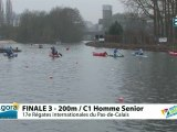 FINALE 3 (200m) C1 HOMME SENIOR - REGATE INTERNATIONALE DU PAS-DE-CALAIS 2012