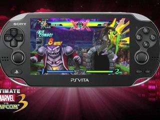 Vita Trailer de Ultimate Marvel vs Capcom 3