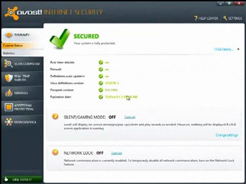 ANTIVIRUS TÉLÉCHARGER GRATUIT 6.0.1289 AVAST VERSION