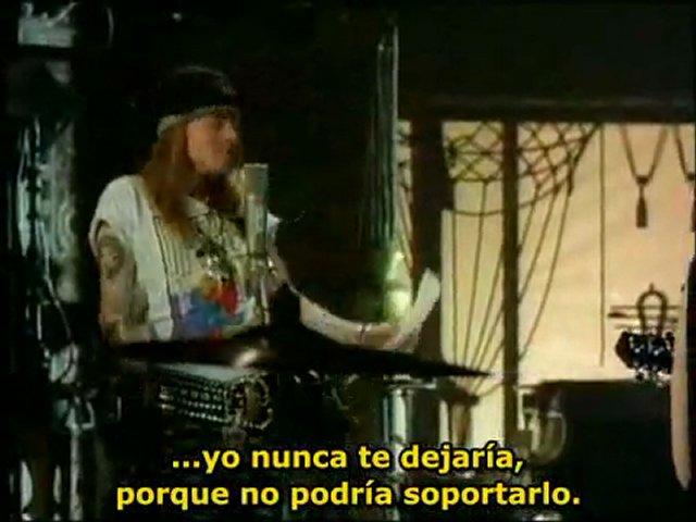 Guns n' Roses – Patience (subtitulado al castellano)