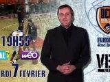 BA BCM Vs Riga en direct sur Opal'TV et sur Weo
