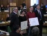 Remise des prix des métiers d'art 2011