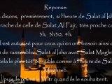Regrouper les salat de maghreb et 'icha - cheikh 'Ubeyd al jabiri