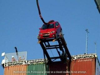 "Chevy Sonic ""Stunt Anthem"" | Chevy Super Bowl XLVI Ads | Chevrolet Commercial"