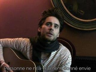 Jared Leto - L'interview accordage de guitare