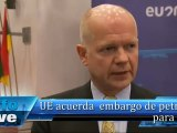 La Unión Europea acuerda el embargo de petróleo sobre el programa nuclear de Irán