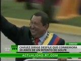 Venezuela celebra los 20 años del golpe fallido que 'encendió' la revolución bolivariana–RT