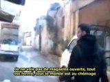 Visite d'un marché de légumes à Homs - Syrie - 29/01/2012 - sous-titres français