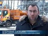 Opérations de salage dans les Yvelines