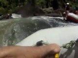 Rafting sur le rivière Tully, Australie.