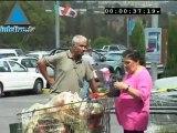 Antes de las fiestas, los israelíes van de compras