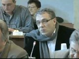 Patrick MOLINOZ. Plan départemental d'élimination des déchets. Session du 3 février 2012. Conseil général de la Côte-d'Or (déchets 1)