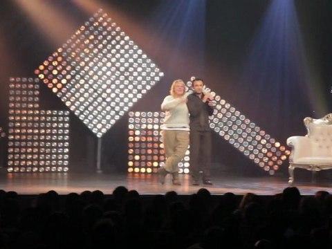 Valérie Damidot s'incruste au spectacle de Willy Rovelli