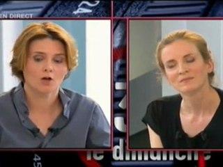 Nathalie Kosciusko-Morizet et Caroline Fourest au sujet de Marine Le Pen