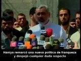 """Haniya: """"somos la cubierta política para la resistencia""""."""