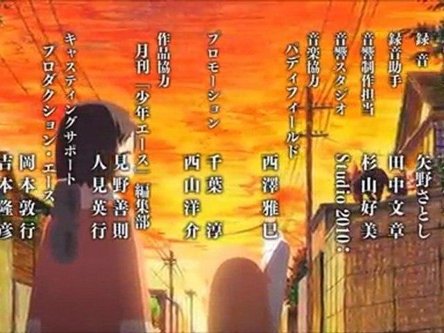 Nichijou (日常) ED 「Zzz」 を歌う