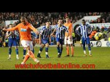 watch The 7th feb 2012 Sheffield Wed vs Blackpool football live stream