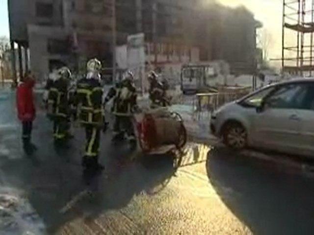 Explosion à Caen
