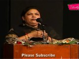 "Lady Poet Sing Poetry At Celebration Of 71st Birthday Of ""Jagjit Singh"""