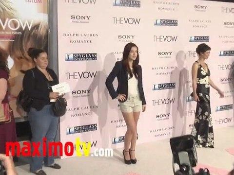 Nathalia Ramos The Vow Premiere