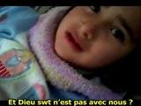 L'innocence des enfants syriens même face à la douleur - Syrie - 04/02/12 - sous-titres français