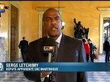 Le député Serge Letchimy réagit à ses propos