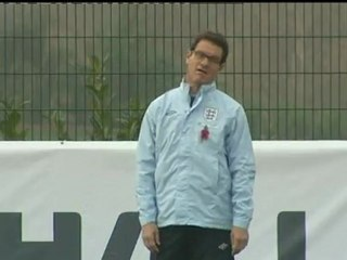 England Manager Fabio Capello resigns