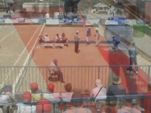 Record du monde tir de précision pétanque par Christophe Sévilla à Mâcon en juillet 2011