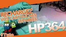 comment recharger une cartouche HP 364