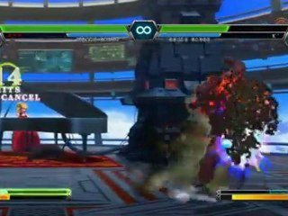 THE KING OF FIGHTERS XIII Console Combo Showcase - NESTS Style Kyo